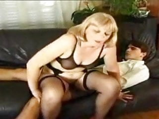 Mature blonde from France