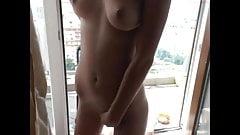 real tits bangin tight blonde shaking orgasm that u control