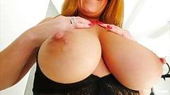 Hot Redhead MILF FTV Elexis Monroe Big Tits Masturbation