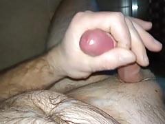 Masturbation piss and hot cumshot