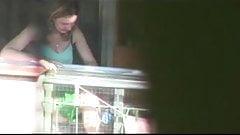 polvo en el balcon