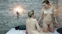 College Lesbians Couple Licking Each Other Pussy
