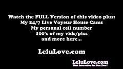 Lelu Love- VLOG: Custom Tees Behind The Scenes Masturbation