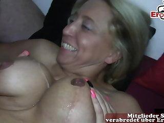 German Housewifes at creampie cum inside swinger party