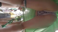 St. Patrick's Day Teen Bend Over