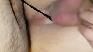 Daddy making my sissy pussy creamy