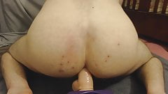 Riding & Twerking on my new cock