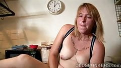 Cuddly blonde MILF wishes you were fucking her juicy pussy
