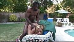 Black guy fucks black girl by