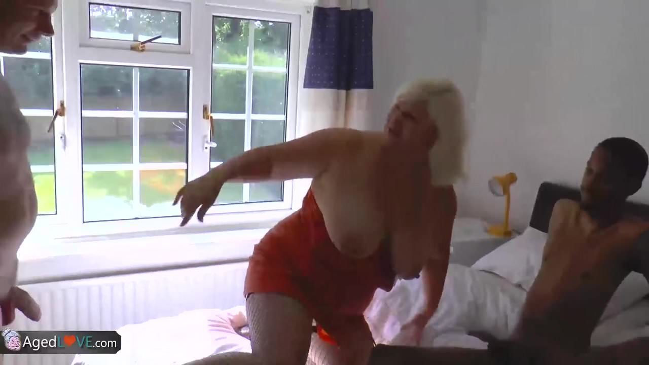 Agedlove old busty blonde grannies lacey hardcore 10