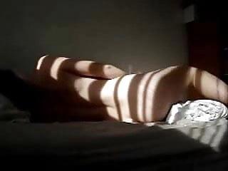 A powerful morning orgasm