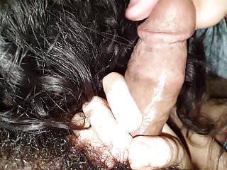 Long handjob & blowjob session with multiple cum, part 1