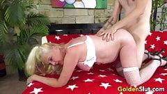 Golden Slut - Pounding Mature Hotties in Doggy Compilation 1