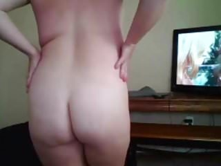 Sweet chubby cheating wife Sum with butt fucks fat pussy