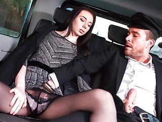 Letsdoeit Backseat Sex On Public Roadside With Tiny Teen