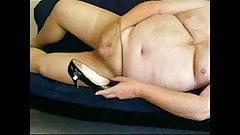 Pantyhose Shoe Cum