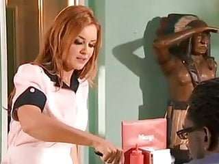 Mature Redhead Fucks BBC at Work
