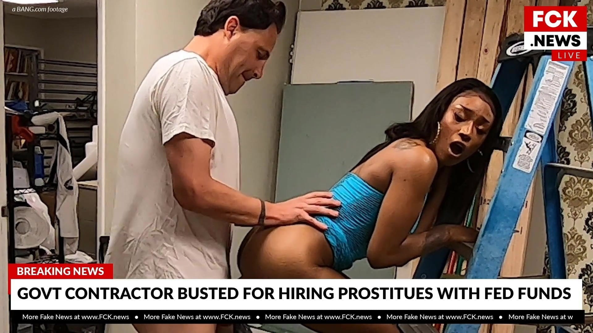 FCK Information – Contractor Caught Fucking Prostitute On Digicam
