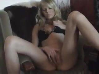 Kollegin befriedigt sich - Blonde Sexy Orgasm