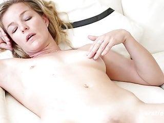 Claudia Talks Sex and Rubs Pussy through panties