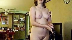 Wife Vacuuming Nude