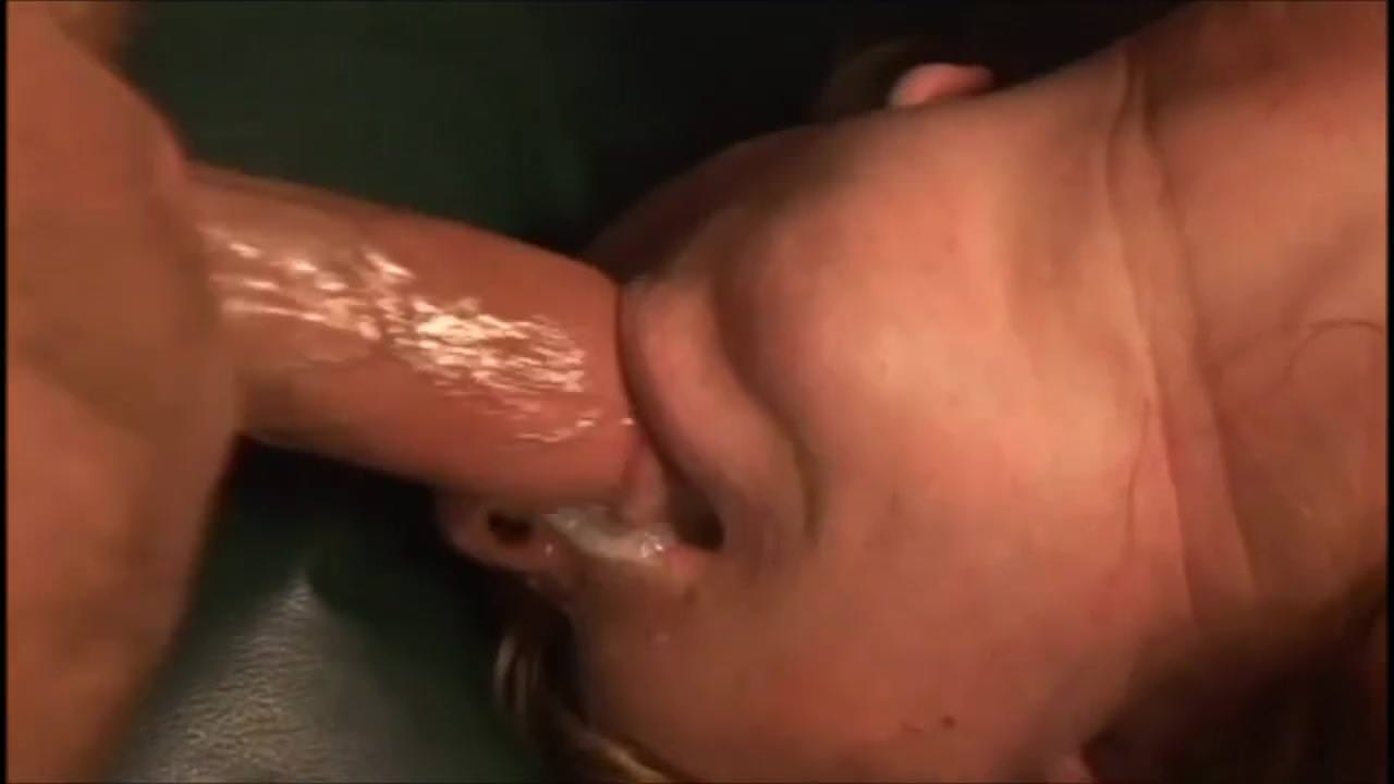 Cum drooling deep video