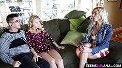 Stepmom teachs Alina West anal