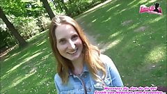 german teen outdoor sex with cute 18yo school girl and huge