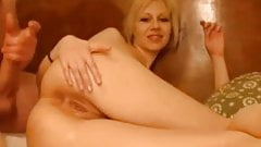 Anal fuck for short haired blond girl