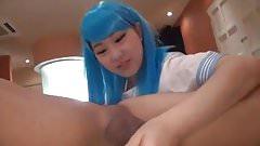 Asian Cosplay Femdom