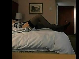 Preview 1 of BBC fucks white tranny on her back
