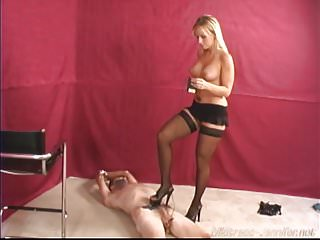 Preview 2 of Hot Femdom Mistress tease and Mistress Tangent dominates