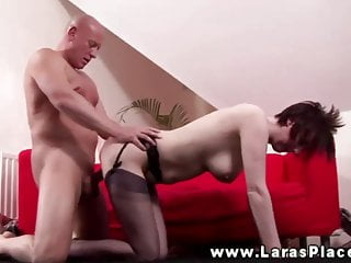 Mature babe getting pussy plowed and cant get enough