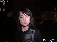 Casting beauty banged for cash on sextape