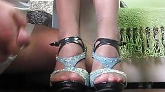 Cum on feet 2665