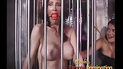 Three mistresses take busty Pamela and make her a slave