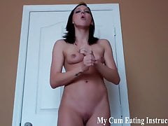 I will milk out two loads of cum for you to swallow CEI