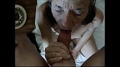 This old bitch wanted to fuck and suck my cock.