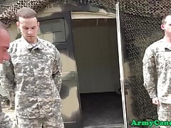 army soldier deepthroating sergeants cock