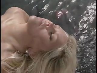 Blonde beauty gets her tight pussy licked by sexy brunette