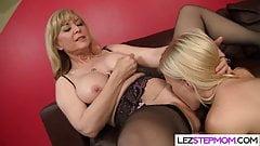 Lesbian Stepmom Has The Right Treat