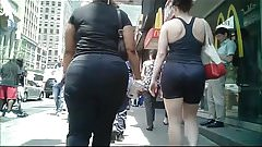 Phat Candid Donk Booty in NYC