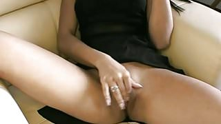 Indian GF Suravinda Sucking Big White Cock