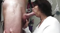 Desperate Mature Wife Gives Her Co-Worker Nice Blowjob