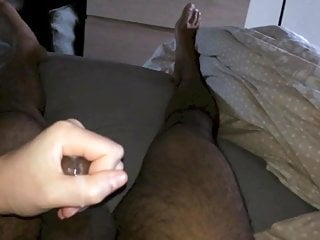 Slow Motion Handjob Cumshot from Girlfriend