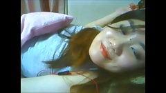 Korean Slut Yein Jeong masturbates on webcam 17