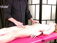 Yonitale: orgasmic massage with hot model Milena Devi. P1