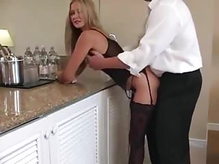 Wifey Takes A Huge Load In Her Mouth!
