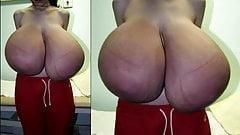 Huge Super Size Natural Tits (BEST PICS) Part. 1