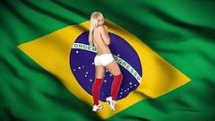 World Cup Football 2014 Strip.